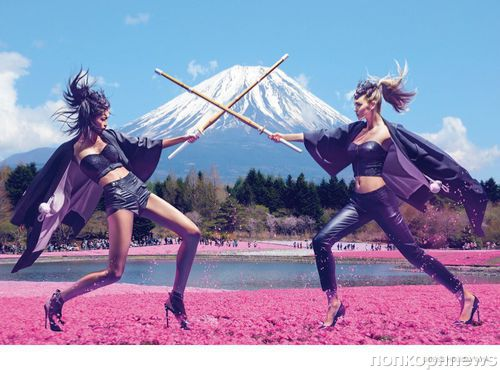 Каникулы в Японии бренда Guess