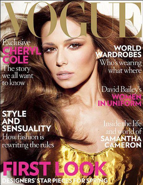 Шерил Коул в журнале Vogue. UK. Февраль 2009