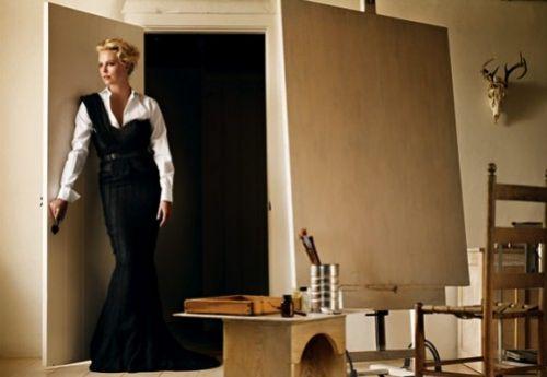 Интервью Шарлиз Терон для Vogue