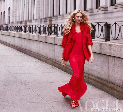Кэндис Свейнпол в журнале Vogue Мексика. Сентябрь 2013