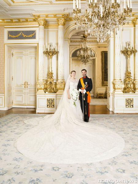 Королевская свадьба: принц Гийом и принцесса Стефани