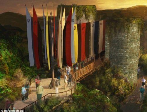 "Видео: проект парка ""Гарри Поттера"""