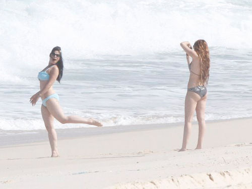 Майли Сайрус в Бразилии