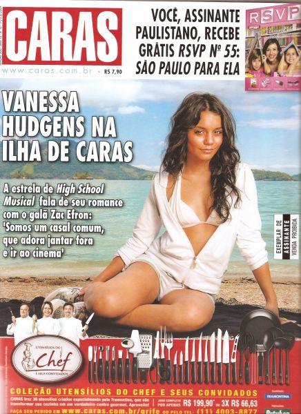 Ванесса Хадженс в журнале Caras. Июнь 2009