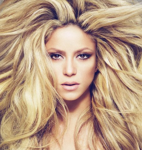 Промо-фото Шакиры для ее альбома She-Wolf