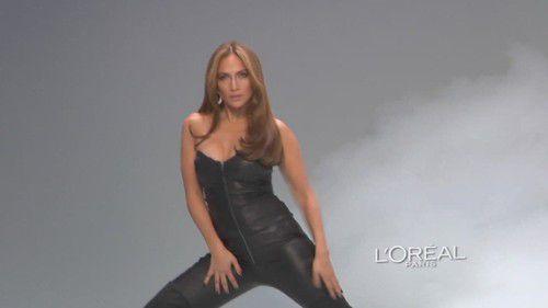 Дженнифер Лопес в рекламе L'Oreal
