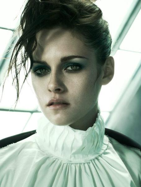 Кристен Стюарт в журнале Vogue. Италия. Ноябрь 2011