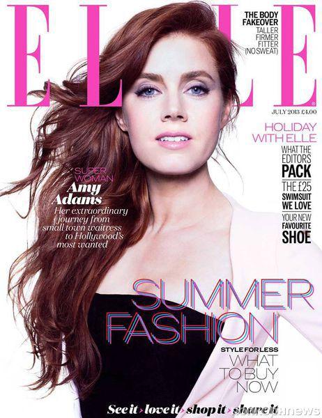 Эми Адамс в журнале Elle Великобритания. Июнь 2013