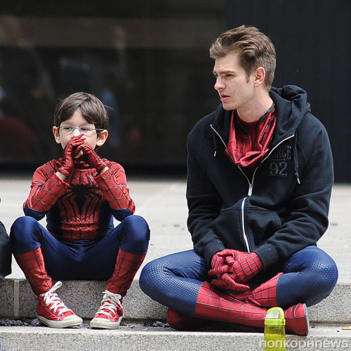 """Съемки фильма """"Новый Человек-паук 2"""""""