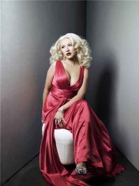 Фотосессия Кристины Агилеры для нового альбома