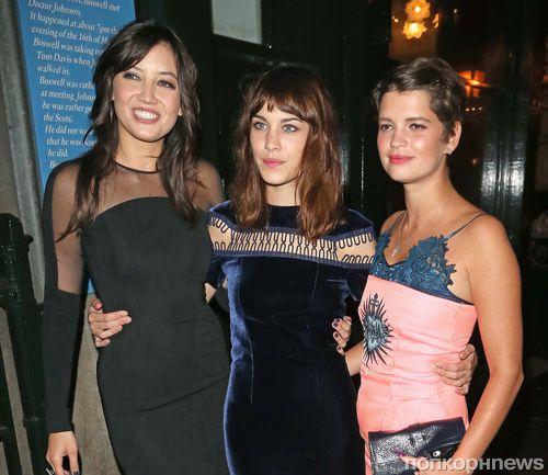 Звезды на званом вечере Vogue в Лондоне