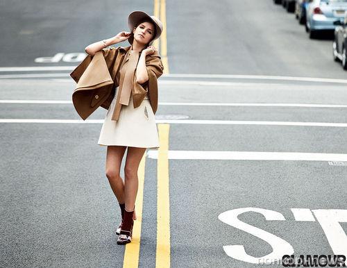 Анна Кендрик в журнале Glamour. Август 2014