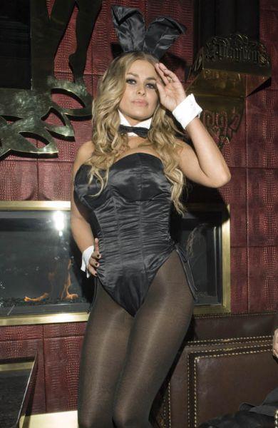 Кармен Электра на вечеринке Playboy