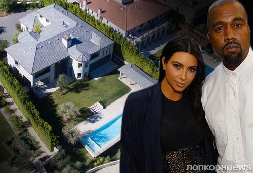 Ким Кардашьян и Канье Уэст продают особняк за 20 млн долларов