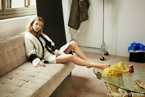 Джорджия Мэй Джаггер в журнале W Magazine Корея. Сентябрь 2014