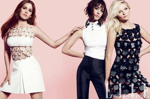 Звезды фильма «Холостячки» в журнале Elle. Сентябрь 2012