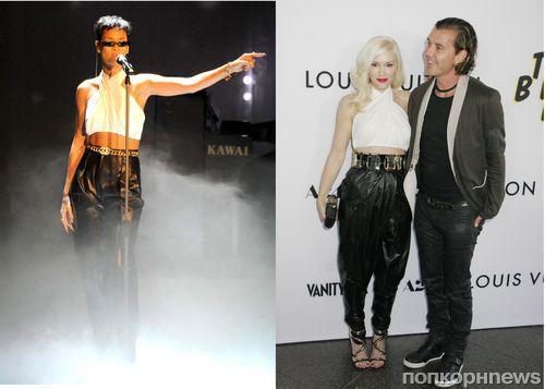 Fashion Battle: Рианна и Гвен Стефани