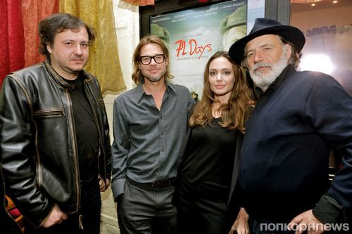 Анджелина Джоли и Брэд Питт пустились в пляс