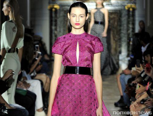 Модный показ новой коллекции John Galliano. Весна / лето 2014