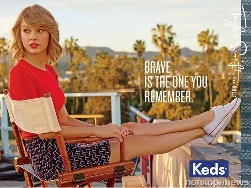 Реклама обуви Keds с Тейлор Свифт
