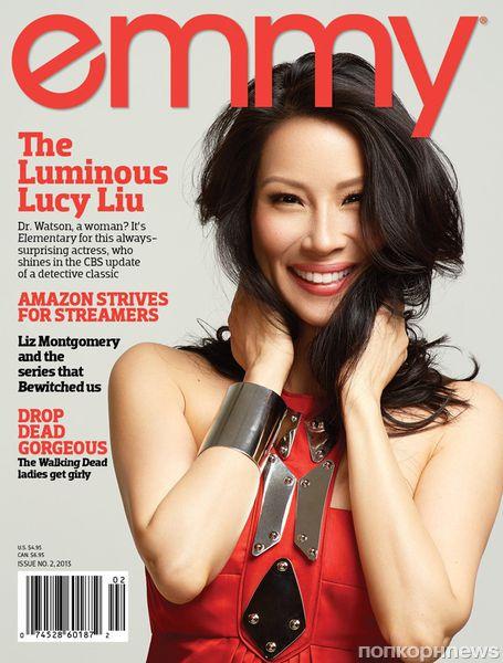 Люси Лью в журнале Emmy. Апрель 2013
