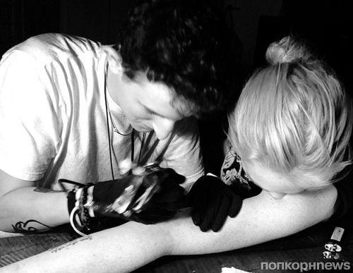 Линдси Лохан сделала новую татуировку