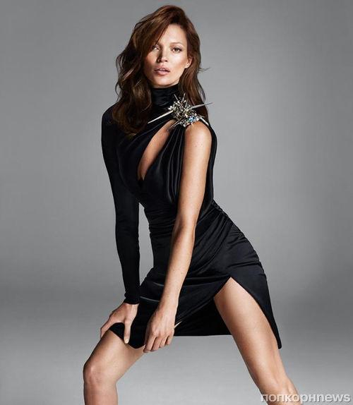 Кейт Мосс и Саския де Брау в рекламной кампании Versace. Осень / зима 2013-2014