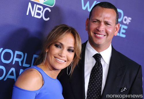 Дженнифер Лопес вмешалась в судебную тяжбу Алекса Родригеса с бывшей женой из-за алиментов