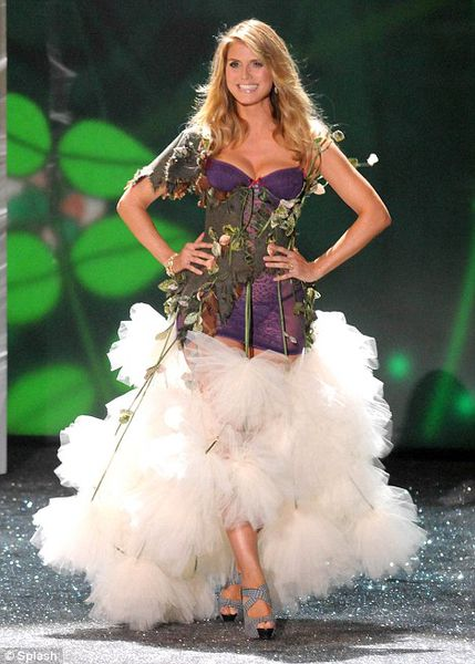 Хайди Клум уходит из Victoria's Secret