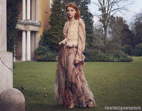 Звезда «Игры престолов» Софи Тернер в фотосессии для журнала The Edit