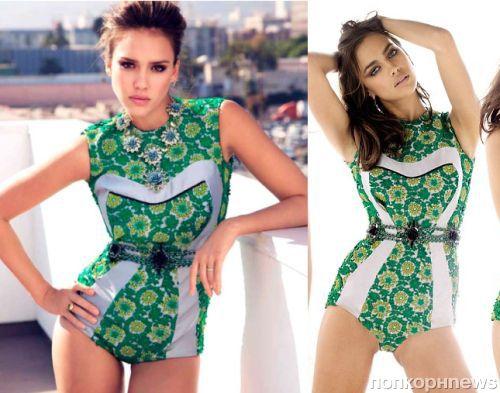 Fashion battle: Джессика Альба и Ирина Шейк