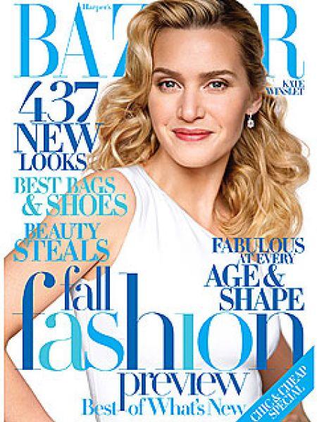 Кейт Уинслет в журнале Harper's Bazaar. Август 2009