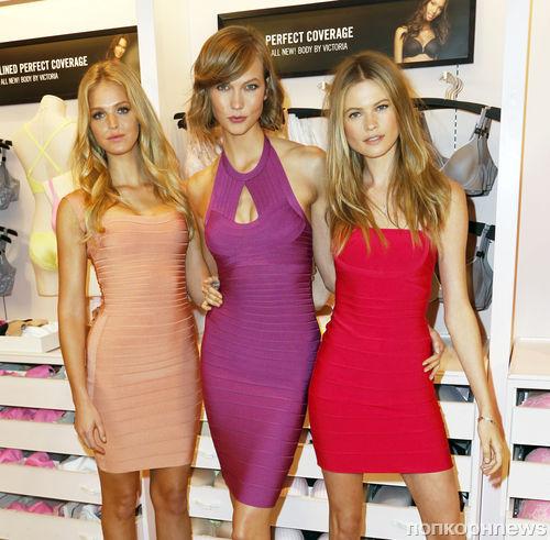 Ангелы Victoria's Secret представили новую коллекцию