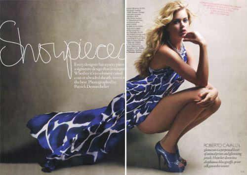 Даутцен Крус в журнале Vogue. Декабрь 2009