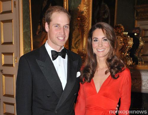 Принц Уильям и Кейт Миддлтон стали послами Олимпийских игр 2012
