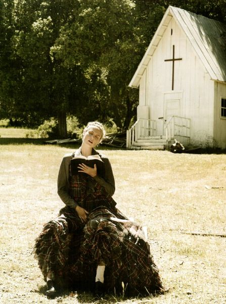 Хайди Клум в журнале Citizen K Russia. Осень2008/Зима2009