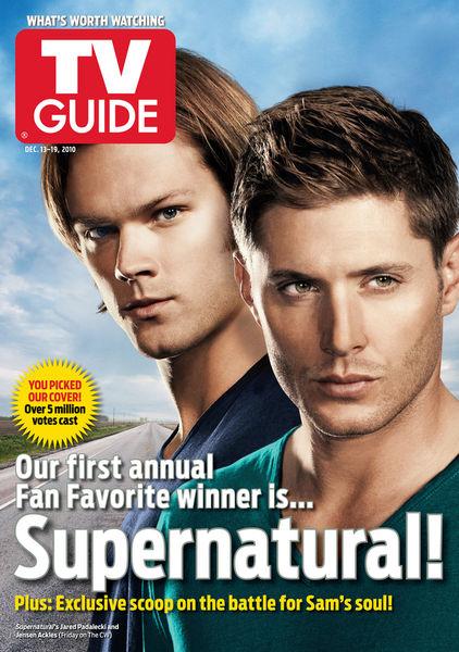 Сериал «Сверхъестественное» выиграл и попал на обложку TV Guide