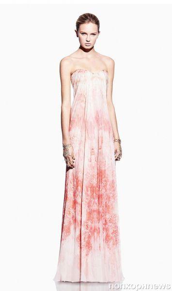 Каталог новой коллекции Alexander McQueen. Весна 2012