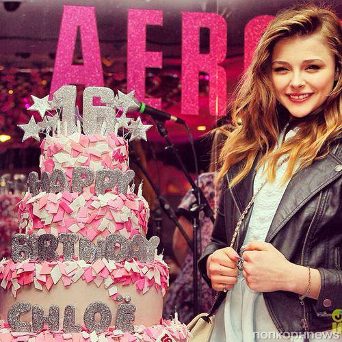 Хлоя Морец отпраздновала день рождения на вечеринке Teen Vogue