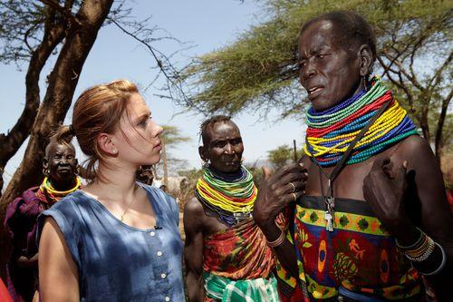 Скарлетт Йоханссон в ужасе от обстановки в Африке