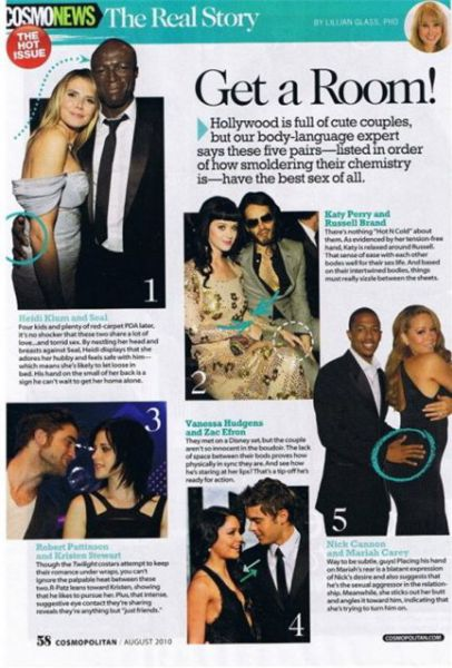 5 самых страстных пар в Голливуде по мнению Cosmopolitan