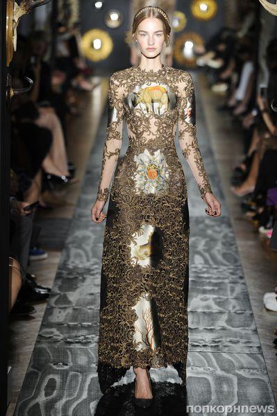 Модный показ Valentino Haute Couture. Осень / зима 2013-2014
