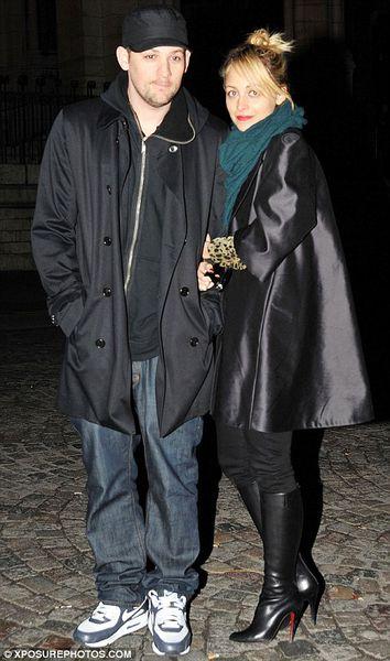 Николь Ричи и Джоэл Мэдден: медовый месяц в Париже