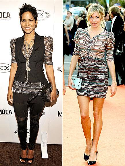 Fashion Battle: Халли Берри и Сиенна Миллер