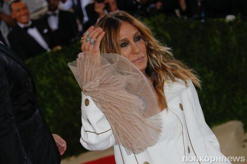 Сара Джессика Паркер прокомментировала свой «скучный» наряд на Met Gala 2016