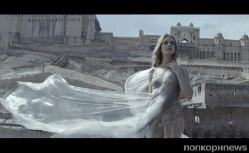 Наталья Водянова в рекламе парфюма La Legende de Shalimar