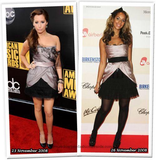 Fashion battle: Эшли Тисдейл и Леона Льюис