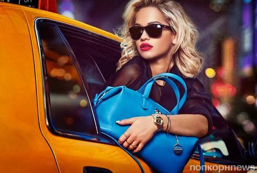 Рита Ора в рекламной кампании DKNY Resort 2014