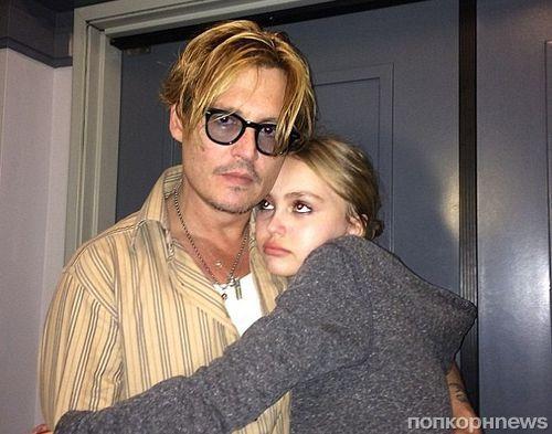 Джонни Депп беспокоится о модельной карьере дочери Лили Роуз