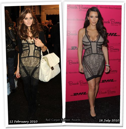 Fashion battle: Оливия Палермо и Ким Кардашиан